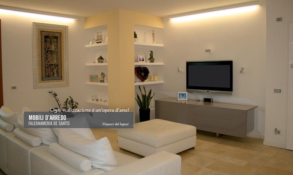 Stunning Soggiorno Su Misura Gallery - Idee Arredamento Casa ...